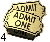 Image of 4 Event Tickets