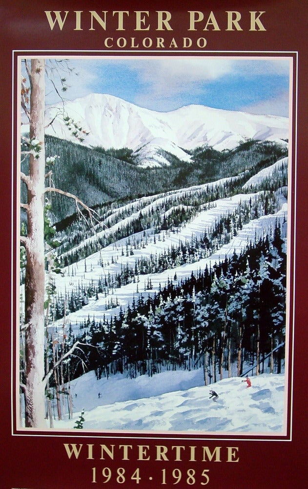 Image of 1984-1985 Winter Park Vintage Poster