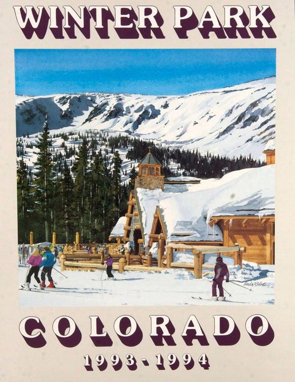 "Image of 1993-1994 Winter Park ""Sun Spot"" Poster & notecard"