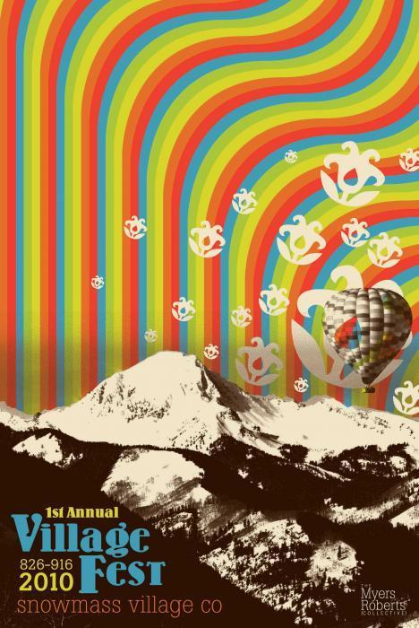 Image of 2010 Village Fest Poster