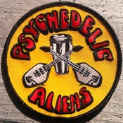 Image of PSYCHEDELIC ALIENS patch