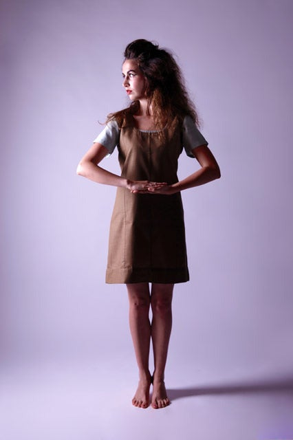 Image of Vest Dress