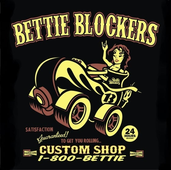 Image of Bettie Blockers Ladies Singlet