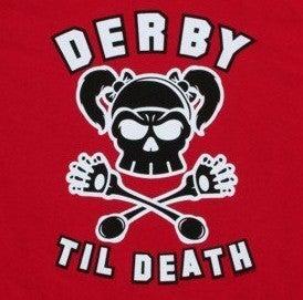 Image of Derby Til Death - Ladies - Red