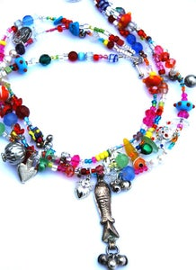 Image of rainbow necklace