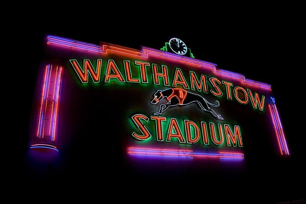 Image of Stadium Facade at Night, 2008