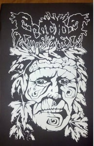 """Image of Ecocide """"Tree Face"""" Silk Screened Poster"""