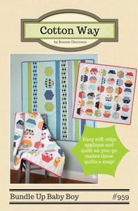 Image of Bundle Up Baby Boy PDF Pattern #959