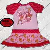 Image of **SOLD OUT** Daddy's Lil' Doe Twirl Dress - size 2/3