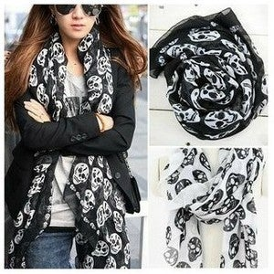 Image of The Skull Scarf