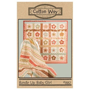 Image of  Bundle Up Baby Girl PDF Pattern #882