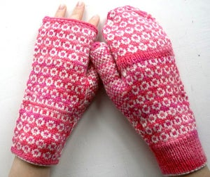 Image of Snooks- fingerless mitts or fliptop mitts PDF Pattern