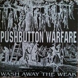 "Image of PUSHBUTTON WARFARE 7"" BLACK VINYL (Ex - Hatebreed, Shadows Fall, 100 Demons)"