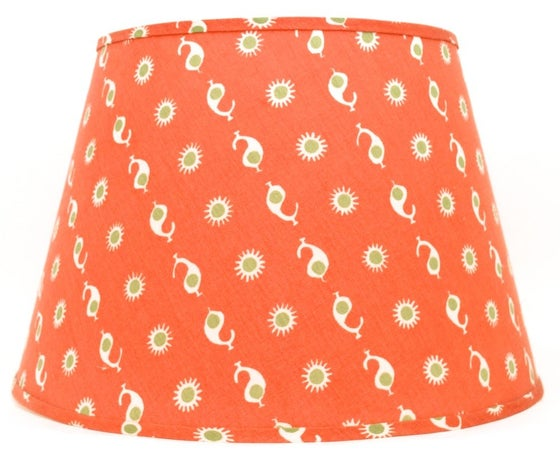 """Image of 20"""" Casalanca Flame/Olive Lampshade"""