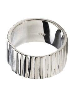 Image of sterling vert ring