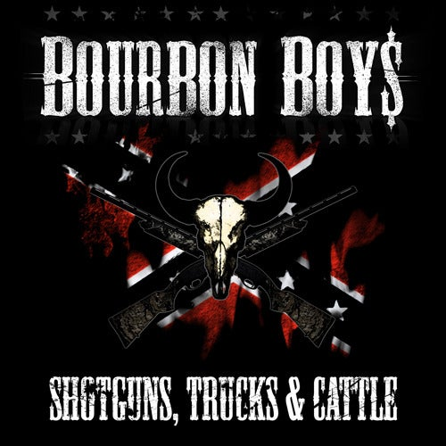 Image of Bourbon Boys - Shotguns, Trucks & Cattle [CD]