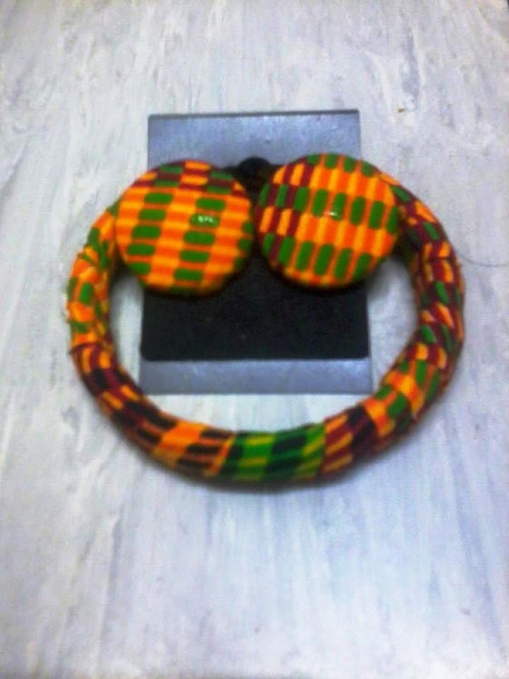 Image of Vibrant Kente Matching Set