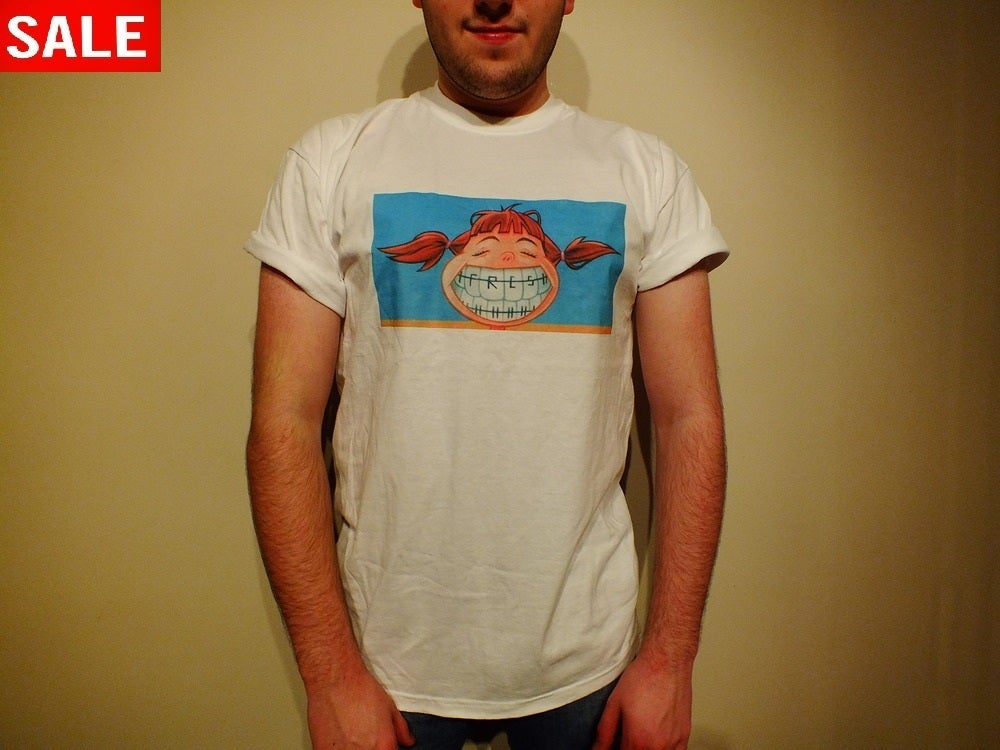 Image of FRESH APPAREL BRACES TEE
