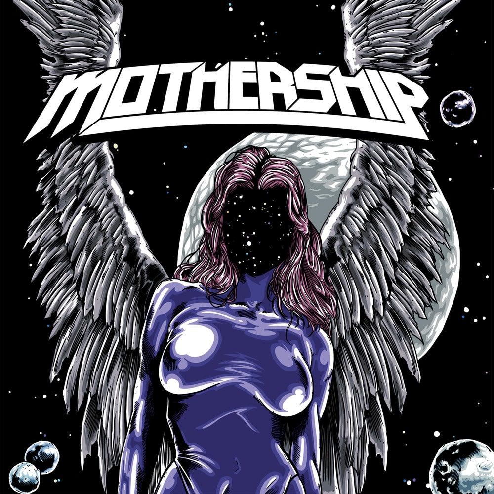 Image of Mothership - Mothership (LP) Black Vinyl LP