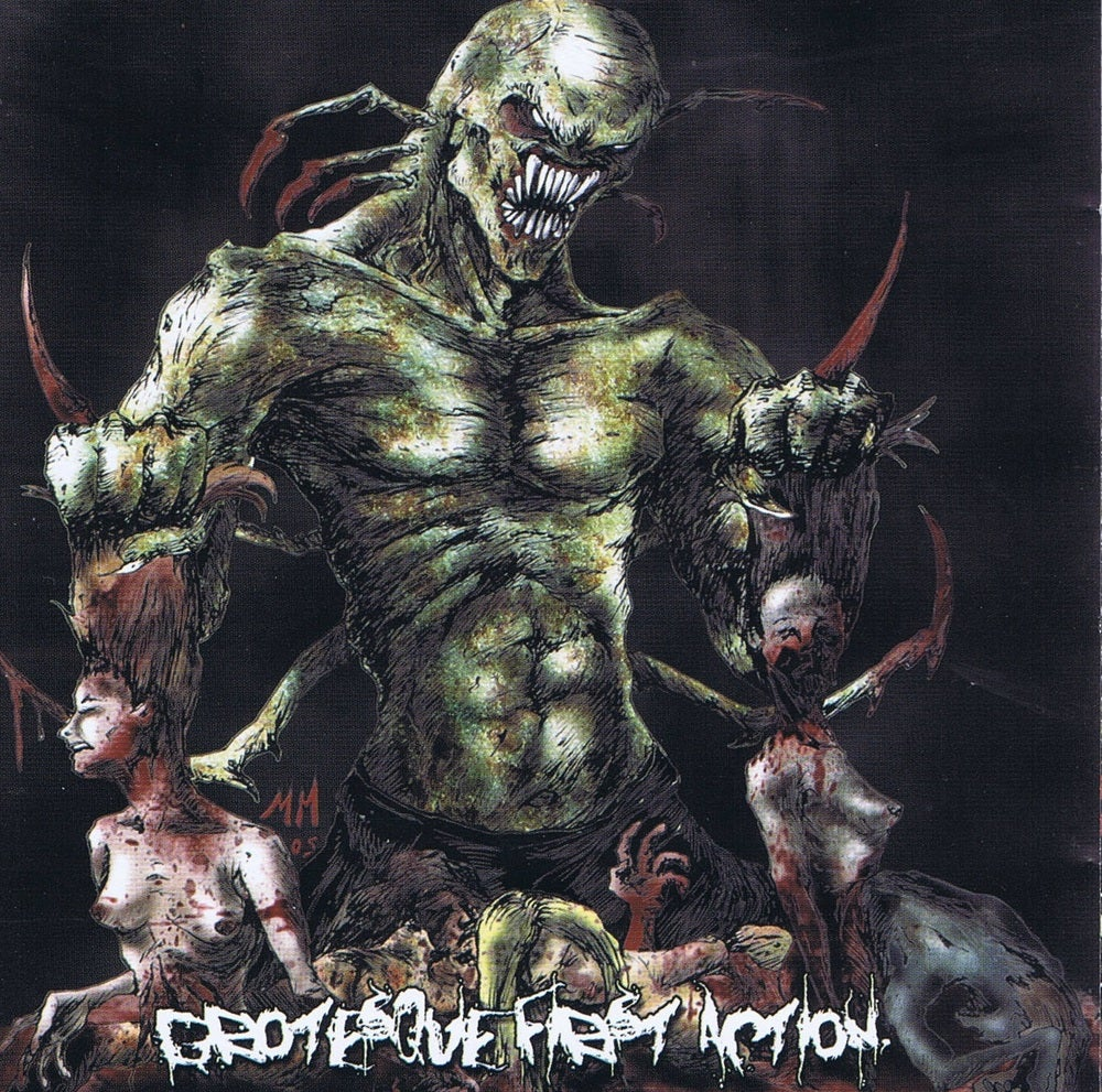 Image of Split Album Grotesque First Action