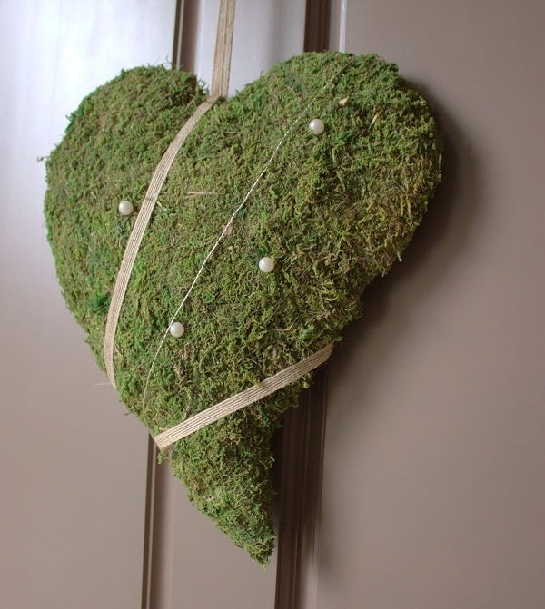 Image of Decor Moss Heart - (Swedish design)