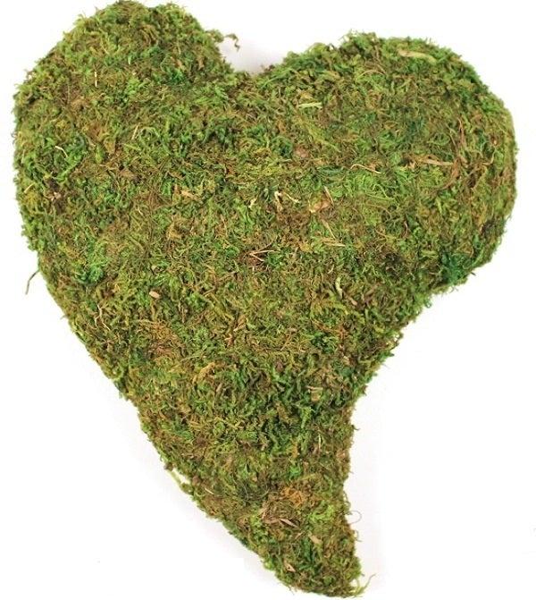 Image of Decor Moss Heart - (Swedish design)