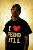 Image of Black I LOVE FEDD HILL tee