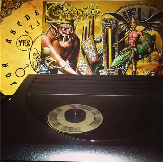 Image of Groan - The Divine Right of Kings (LP)