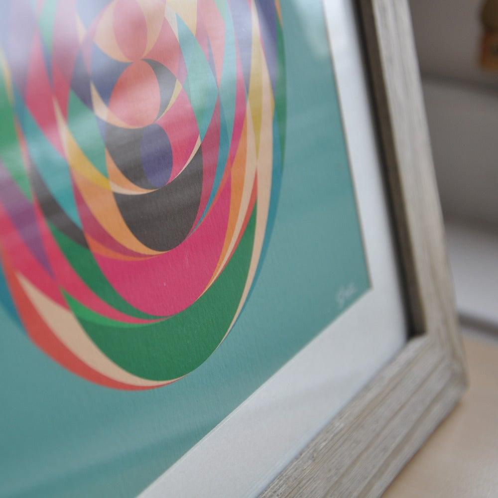 Image of Vertigo Print