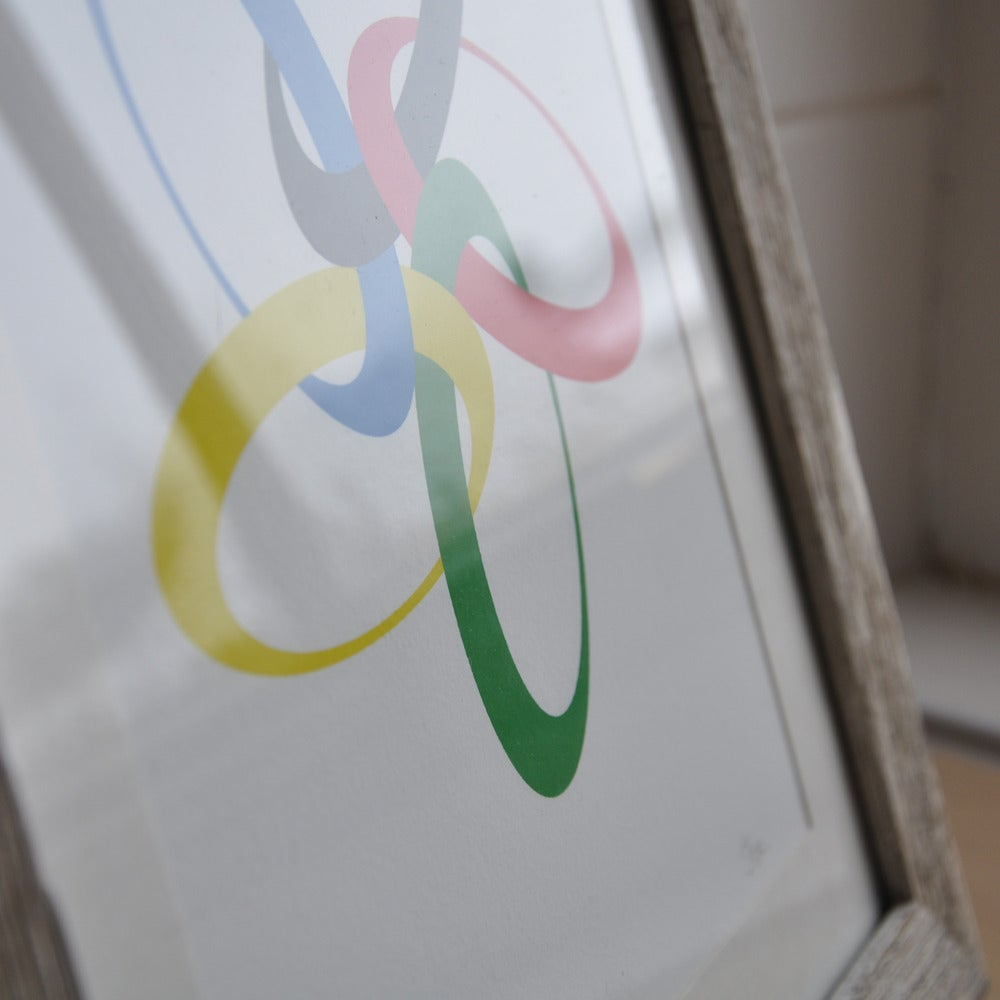 Image of Small World Olympics Print
