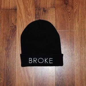 Image of The Broke Beanie - Black