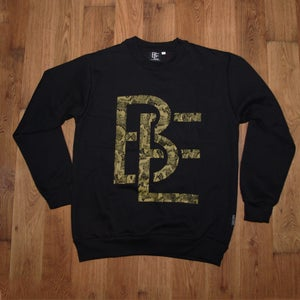 Image of The Snakeskin Sweatshirt - Black