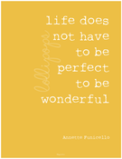 Image of life does not have to be perfect INSTANT DOWNLOAD
