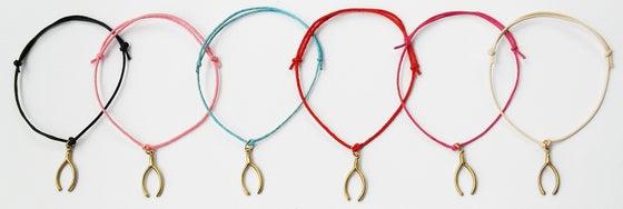 Image of Wishbone Cord Bracelet
