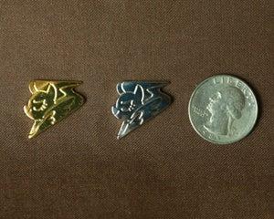 Image of Leadpony / Wingpony Lapel Pins