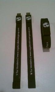 """Image of Vagabonds """"Now or Never"""" Tour USB Wristbands"""