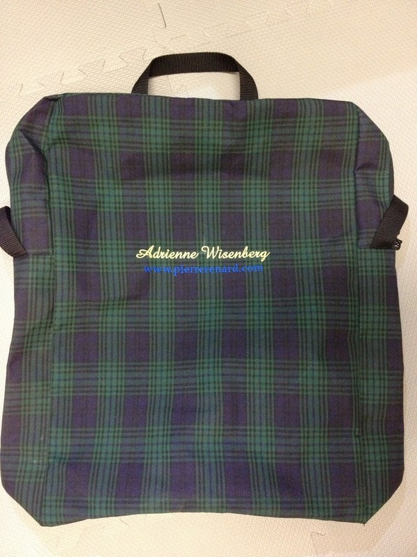 Image of Saratoga Deluxe Stallfront Storage Bag--Monogrammed