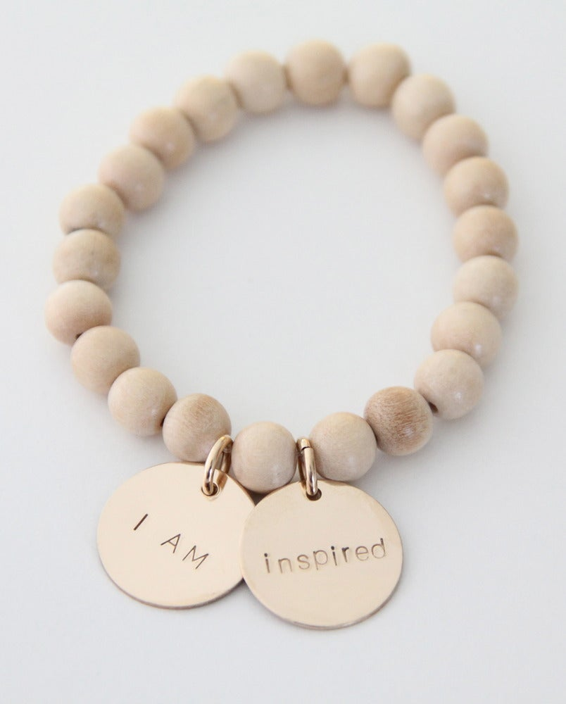 Image of I AM INSPIRED bracelet