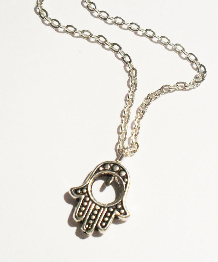 Image of Hamsa Hand Necklace