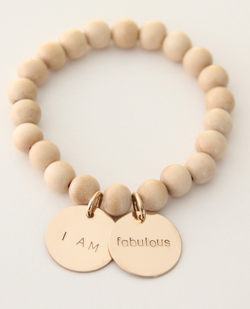 Image of I AM FABULOUS bracelet