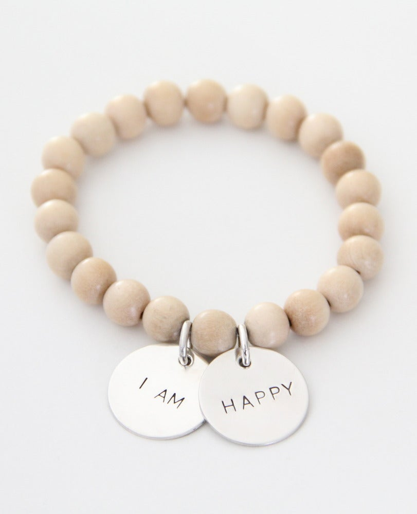 Image of I AM HAPPY bracelet
