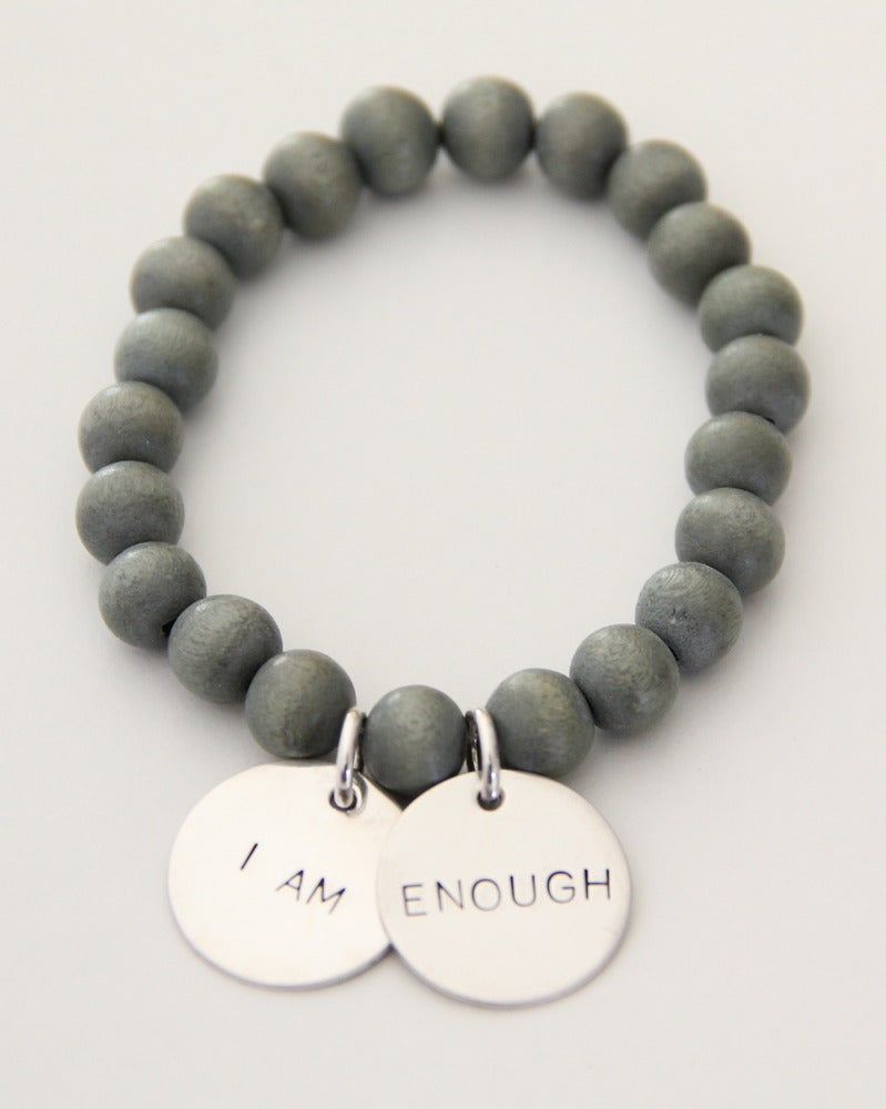 Image of I AM ENOUGH bracelet