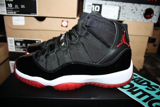 "Image of Air Jordan XI (11) Retro GS ""Breds"""