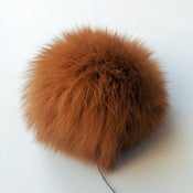 Image of KANIN, karrybrun 7 cm