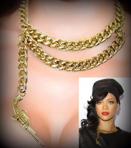 Hello kitty necklace gold
