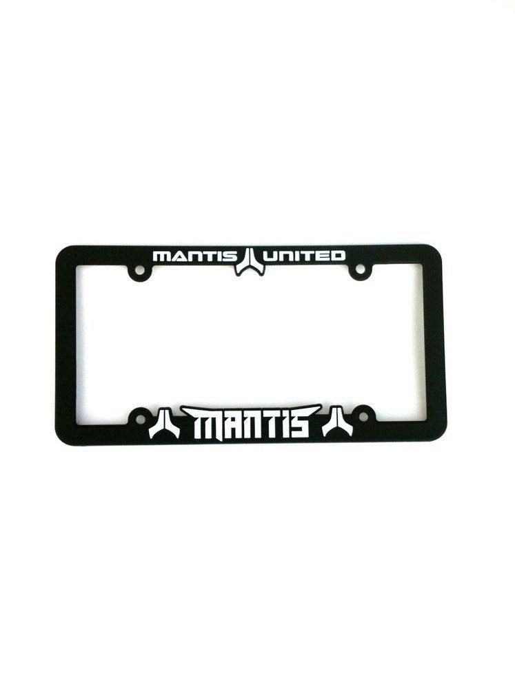 Image of Mantis United license plate frame