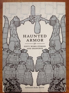 Image of HAUNTED ARMOR - Book w/ Album