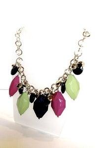 Image of Neon Disco Gem Necklace
