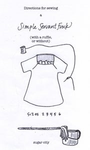 Image of Pattern for Simple Servant Frock