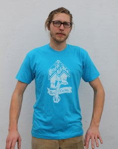 Image of Bicycle Kitchen Tee - Blue